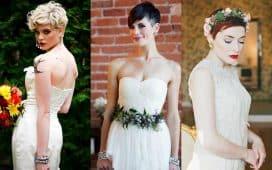 قصات شعر جريئة للعرائس