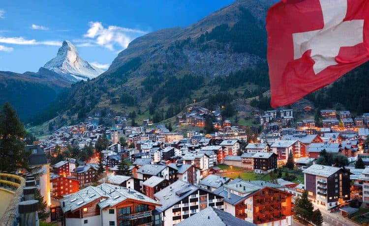 شهر العسل في سويسرا