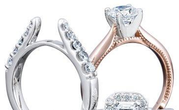 خاتم زفاف مزدوج