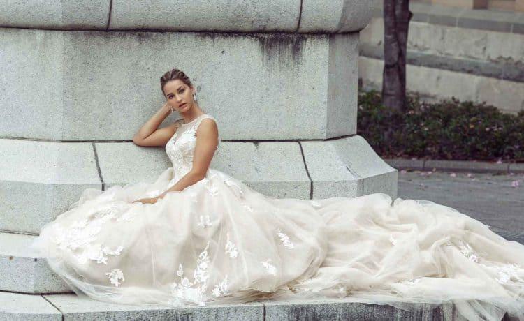 صور اجمل فساتين زفاف