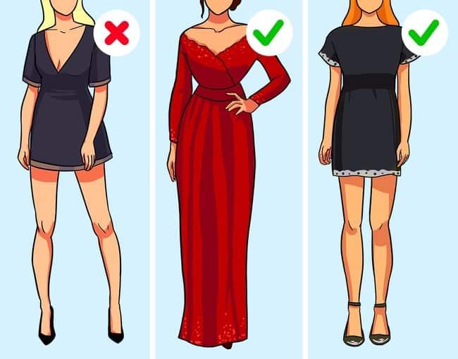فستان مناسب وغير مبتذل
