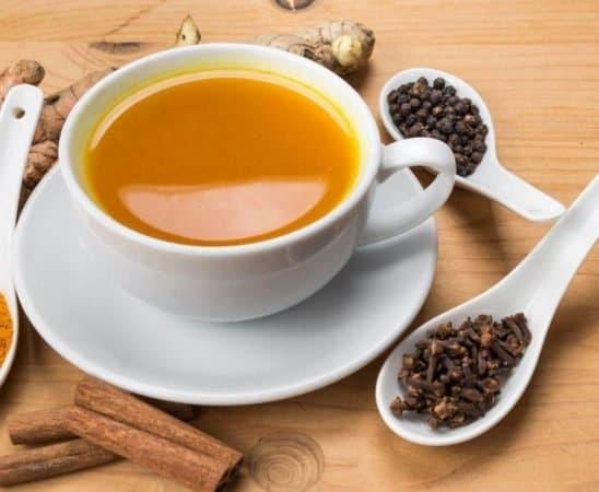 فوائد شاي الكركم