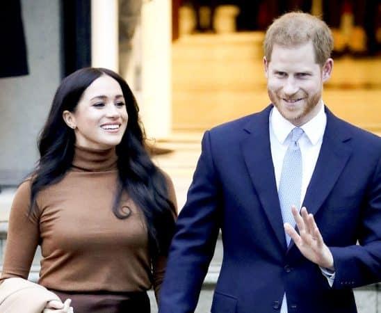 تخلى الأمير هاري وزوجته عن مهامهما