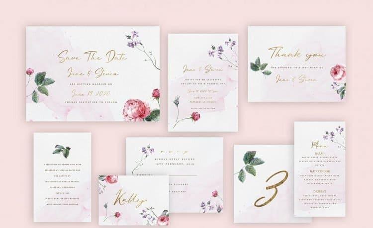 بطاقات دعوة زفاف
