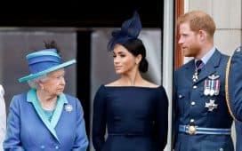 عرض الملكة لميغان وهاري
