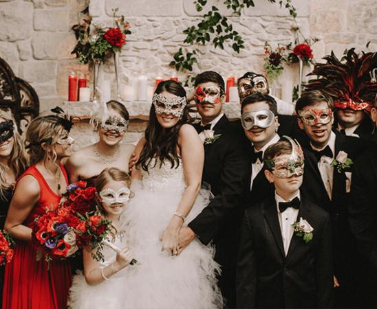 ماسك العروس