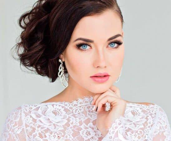 أجمل تسريحات شعر للعروس