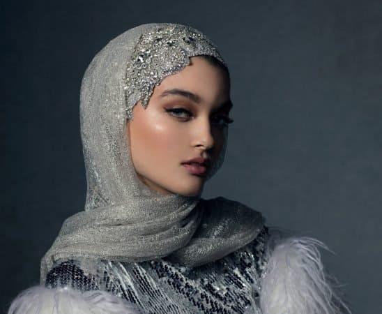 موديلات حجابات سهرة