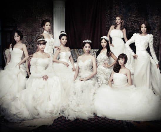 فساتين زفاف كورية