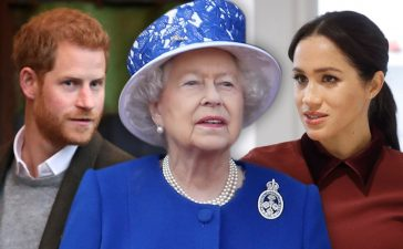 ميغان ماركل تتحدى الملكة