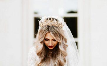 اكسسوارات شعر للعروس