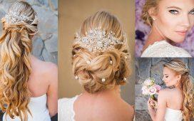 تسريحات كلاسيكية للعرائس