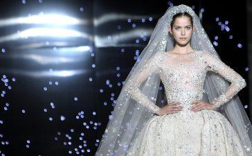 اجمل فساتين زفاف