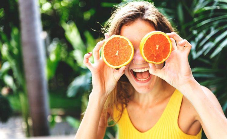 ماسكات البرتقال للوجه