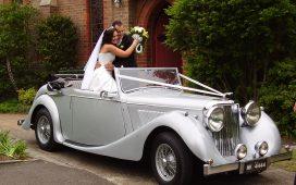 زينة سيارة الزفاف
