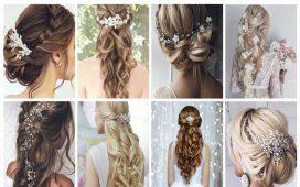 أكسسوارات الشعر للعروس