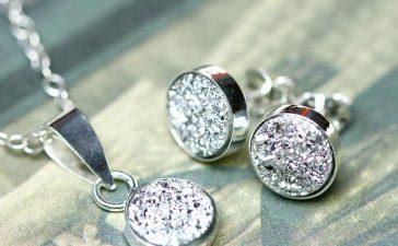 مجوهرات فضية