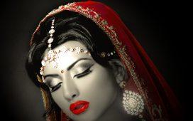 أقراط هندية للعروس