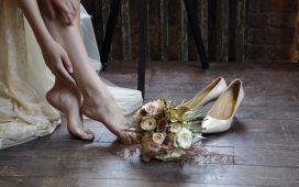 حذاء يناسب فساتين الدانتيل