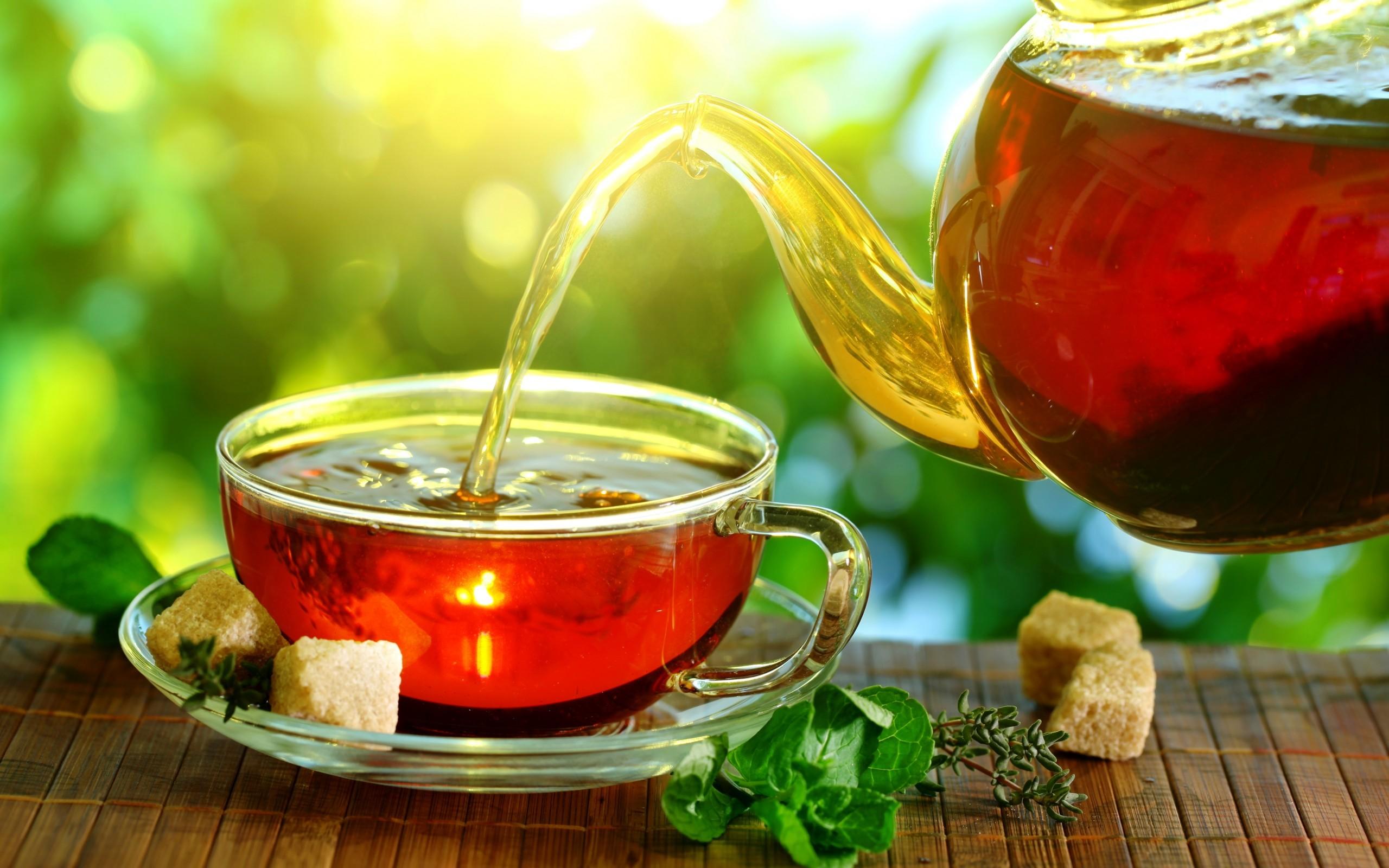 الشاي الأخضر للبشرة والشعر