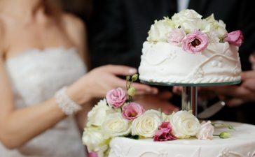 كيكة زفاف عملية