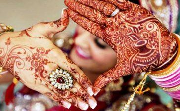 20 نقش حناء هندي