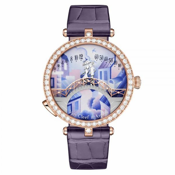 ساعة Lady Arpels Pont Des Amoureux Jour فان كليف أند اربلز Van Cleef & Arpels