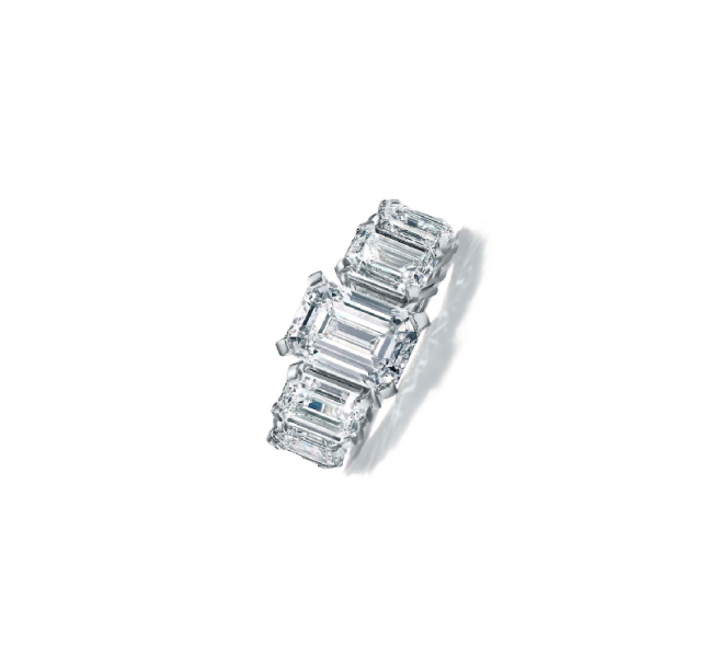 خاتم محبس الماسي من ماركة تيفاني اند كو Tiffany & Co