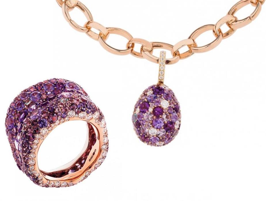 أجمل مجوهرات الجمشت للعروس اكتشفيها بالصور