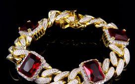 أروع مجوهرات مزينة بالروبي