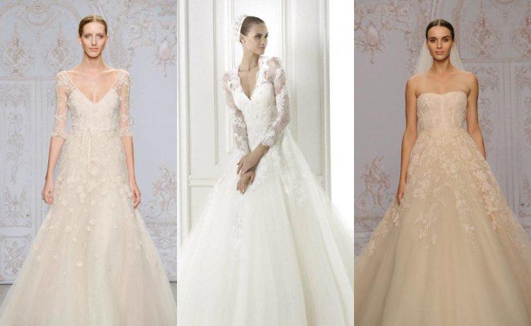 أجمل فساتين زفاف ميدي