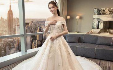 أروع فساتين الزفاف المنفوشة
