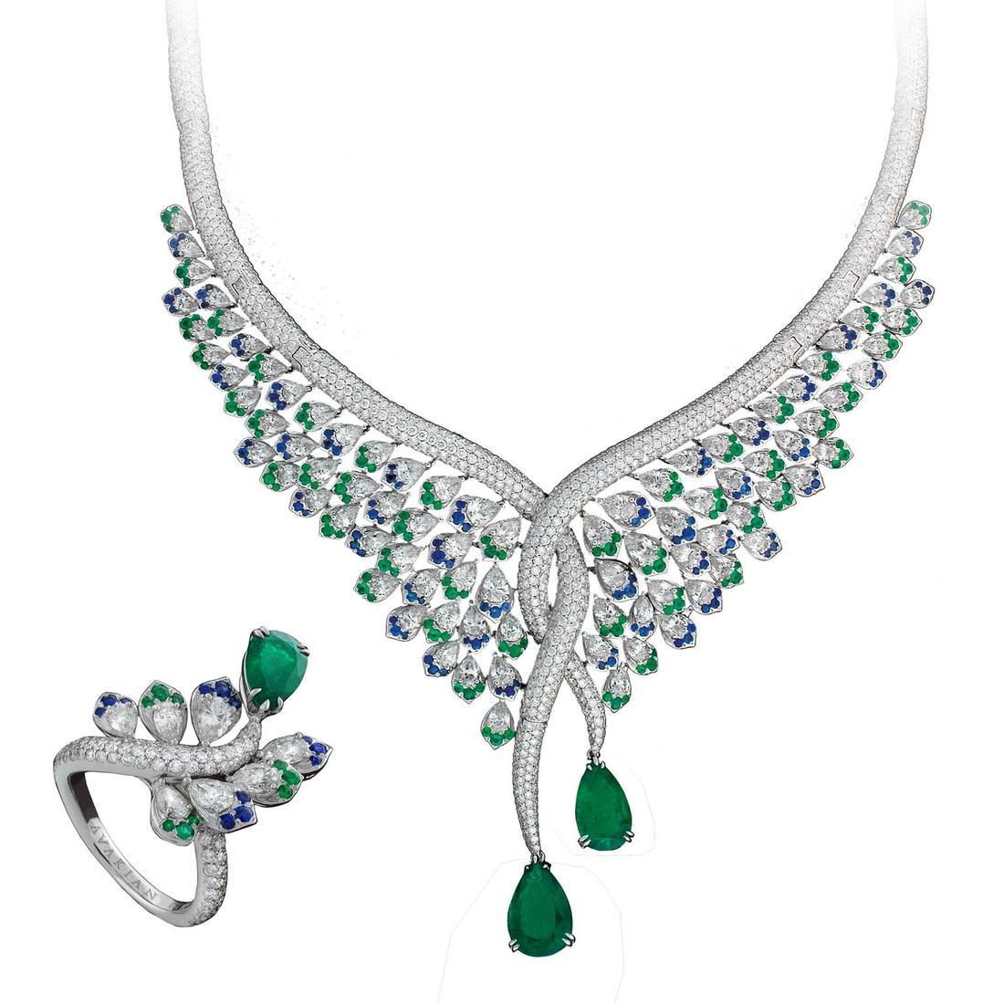 مجوهرات العروس المرصعة بالزمرد عليك اكتشافها