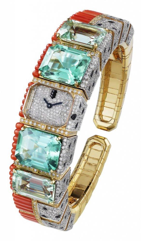 ساعة Phanther Tropical من علامة كارتييه Cartier
