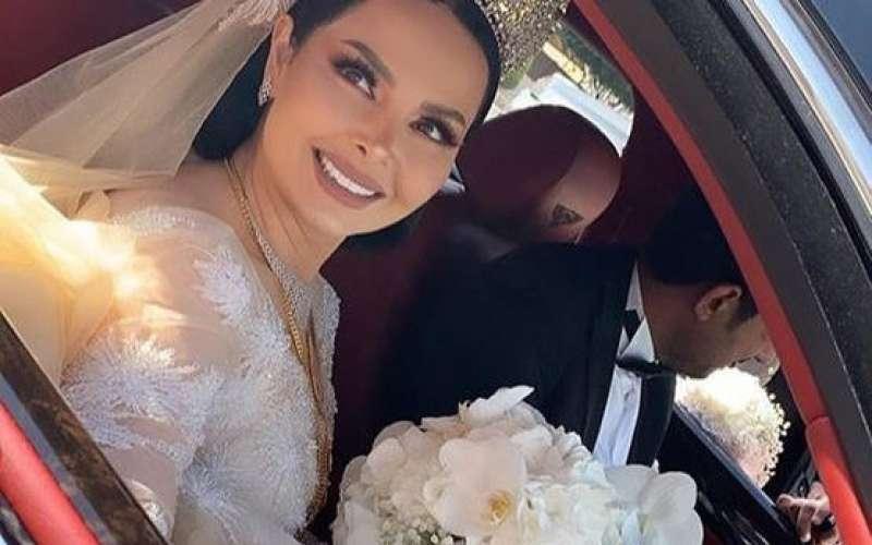 ديانا كرزون وزوجها خلال شهر العسل