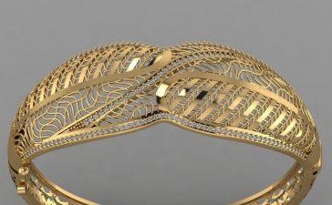 أحدث أساور الذهب الفاخرة من أشهر ماركات المجوهرات العالمية