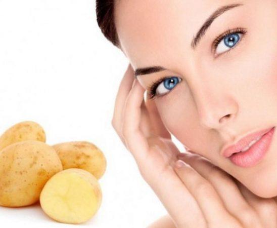 وصفات ماء البطاطس للوجه