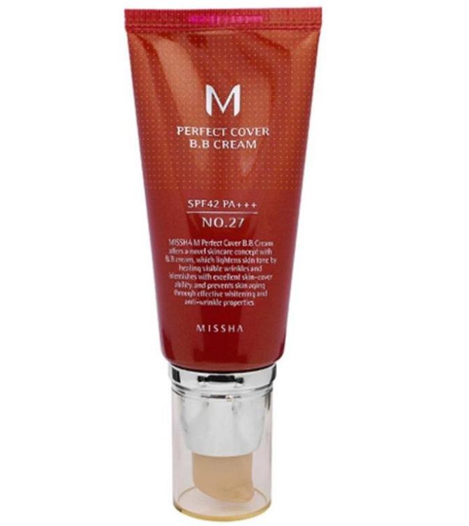 منتج MISSHA M Perfect Cover BB Cream No. 27 Honey Beige