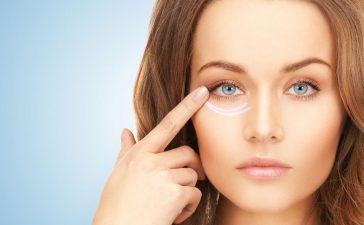 علاج الخطوط حول العين
