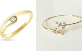 أفخم المجوهرات من الذهب الأصفر لإطلالة عصرية