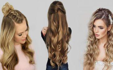أجمل تسريحات الشعر الناعمة والسهلة للمناسبات