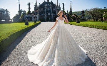 أجمل موديلات فساتين الزفاف الناعمة لعام 2021