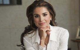 أجمل الإطلالات المحتشمة من وحي الملكة رانيا للصبايا