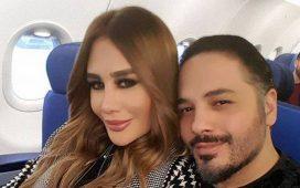 رامي عياش وزوجته