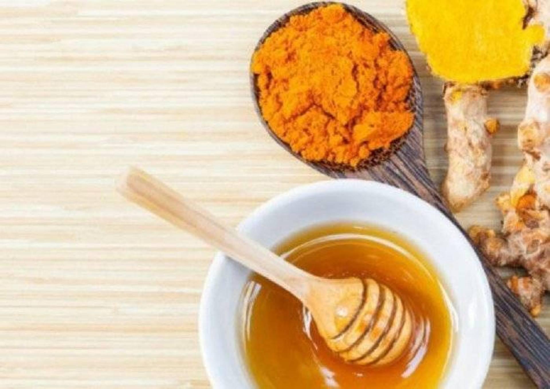 قناع الكركم والعسل
