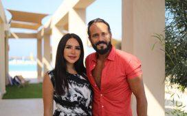 انجي علاء تظهر مع زوجها يوسف الشريف في مسلسل