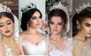 أشكال تيجان أنيقة لعروس صيف 2021