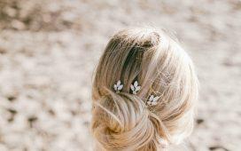 موديلات مشابك شعر فخمة لتسريحة العروس