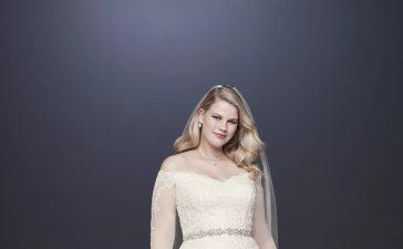 نصائح لاختيار فستان زفاف مناسب للجسم الممتلئ