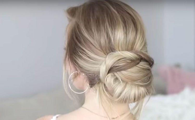 تسريحات شعر بسيطة للعروس الرومانسية
